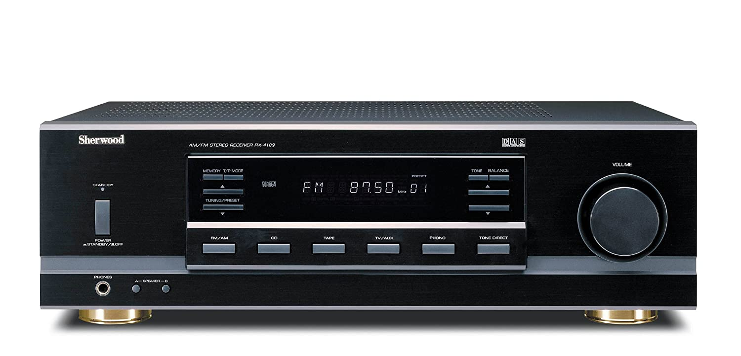 Sherwood RX-4109 105 Watt Stereo Receiver (Black) $83.50