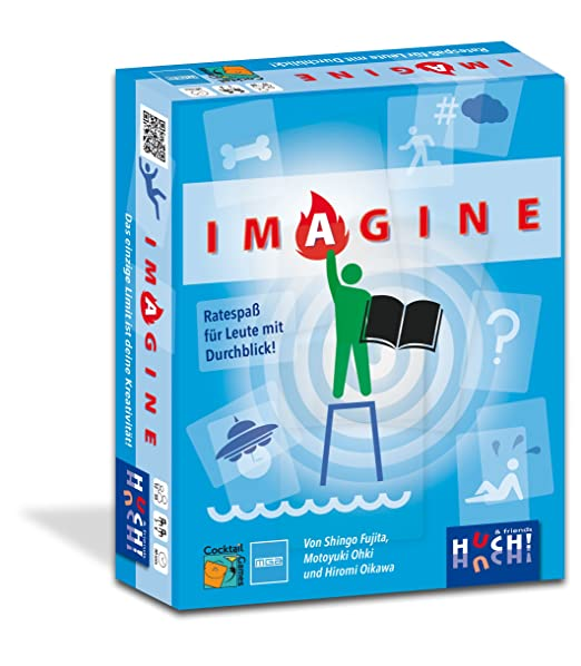 Huch & Friends 879493 – Imagine, jeu de cartes