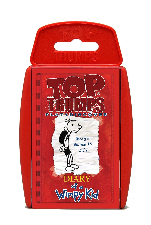 Top Trumps Font Top Trumps Diary of a Wimpy