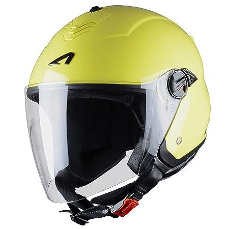 Astone Helmets MINIMS-LEMONXXL Casque Jet Mini Jet S Lemon Taille XXL