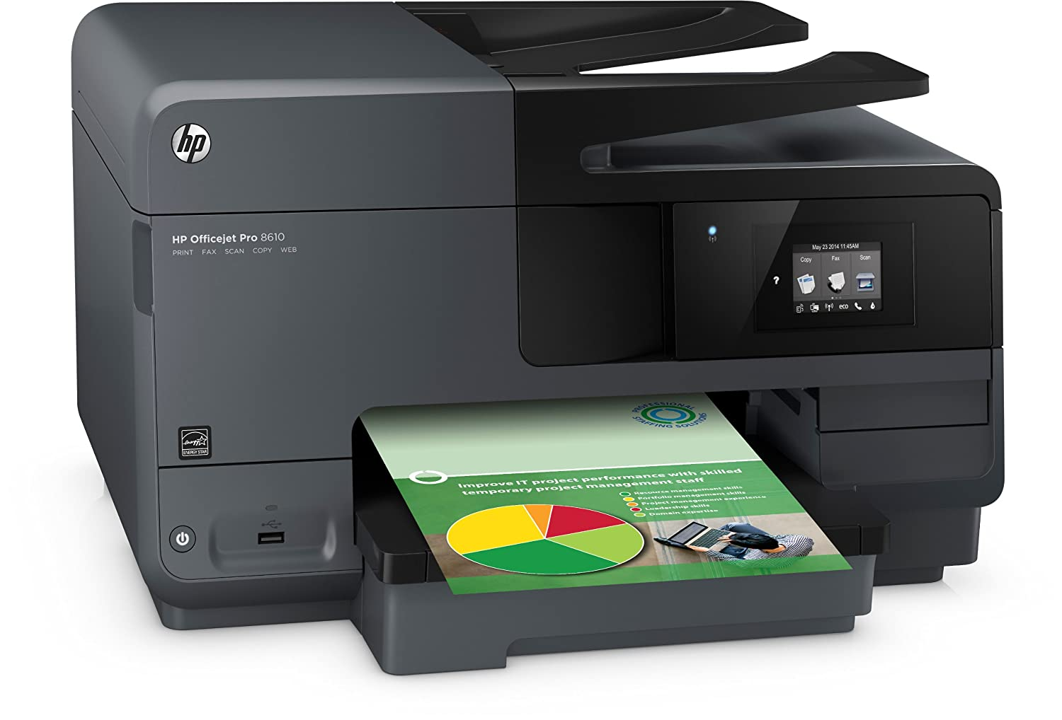 HP Officejet Pro 8610 e-All-in-One Tintenstrahl