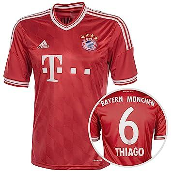 adidas FC Bayern München Trikot Home Thiago Alcántara 2013