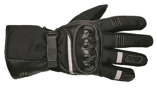 NERVE 1513150704_01 Gants pour moto de route-Noir-Taille XS/taille: 7