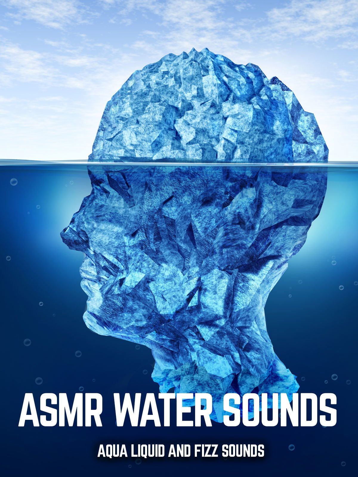 ASMR water sounds aqua liquid and Fizz Sounds