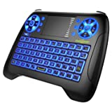 Mini Wireless Keyboard Dootoper 2.4G Mini Wireless XBMC Keyboard Touchpad Mouse Combo - Multi-media Portable Handheld Android Keyboard - for IPTV\Smart TV\Android TV Box\PAD\PC\XBOX360