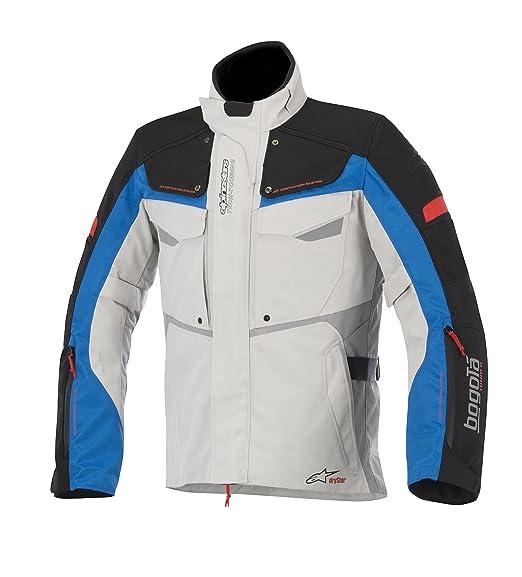 Alpinestars bogota drystar blouson de moto en tissu gris, taille :  xXL