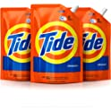 3-Pack Tide Smart Pouch Liquid Detergent