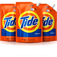 3-Pack Tide Smart Pouch Original Scent HE Turbo Clean Liquid Laundry Detergent, 48 oz. Pouches