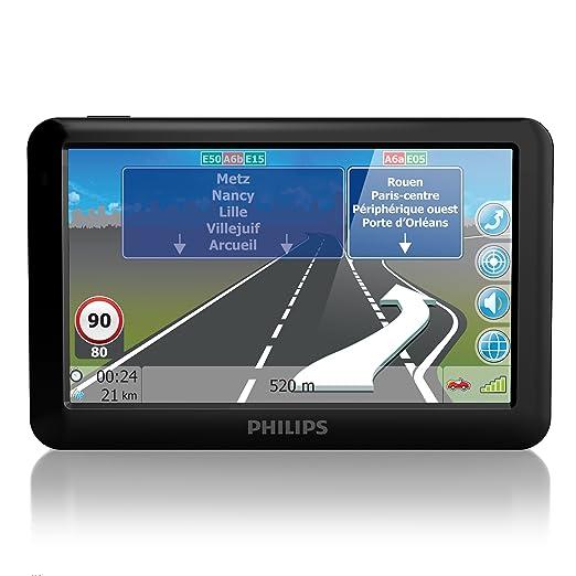 "Philips pNS 500 cEU 24 lM gPS 12,7 cm (5 "")-europe centrale-lifetime mapupdate 23 pays)"
