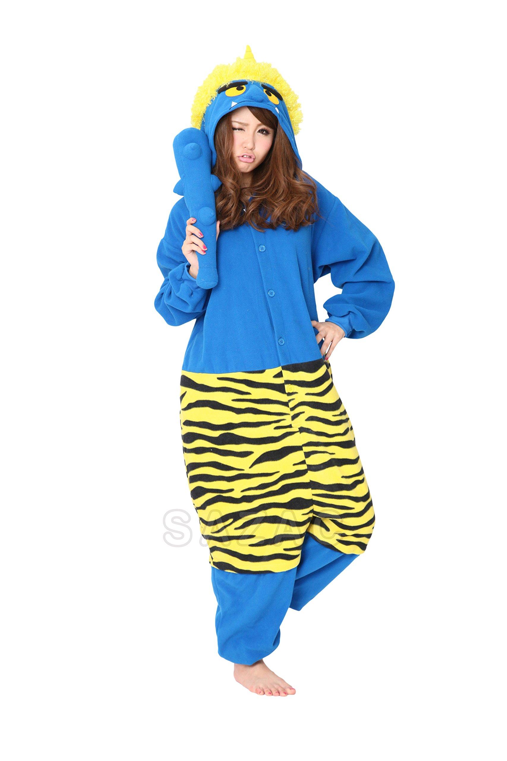 Sazac Sazac Blue Demon Kigurumi - Fancy Dress Costume Pajama