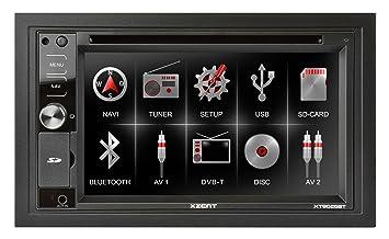 XZENT XT9026BT GPS Bluetooth Noir
