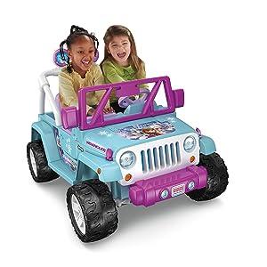Disney Frozen Jeep Wrangler