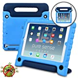 PURE SENSE BUDDY Kids Case compatible with Galaxy Tab A 7.0 | Anti Microbial Shock Proof Cover for Kids | Protective Case for Boys, Girls | Shoulder Strap, Handle & Stand | Samsung SM-T280 T285 (Blue) (Color: Blue, Tamaño: Galaxy Tab A 7.0 (2016))