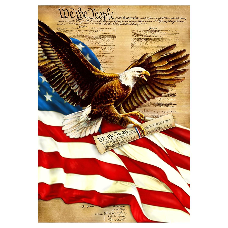 """Freedom Eagle"" Constitution Flag"