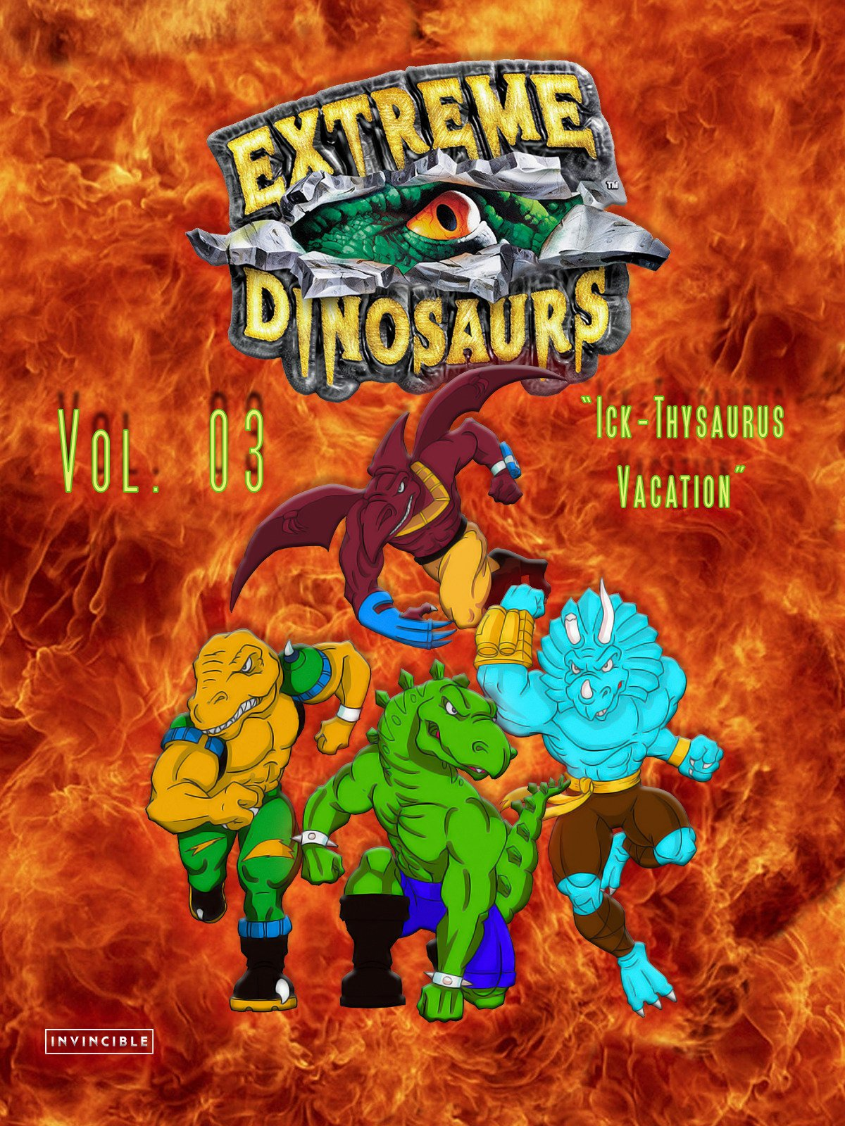 Extreme Dinosaurs Vol. 03Ick-Thysarus Vacation