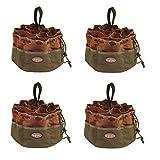 Bucket Boss Parachute Bag Small Parts Bag in Brown, 25001 (Pack of 4) (Tamaño: Pack of 4)