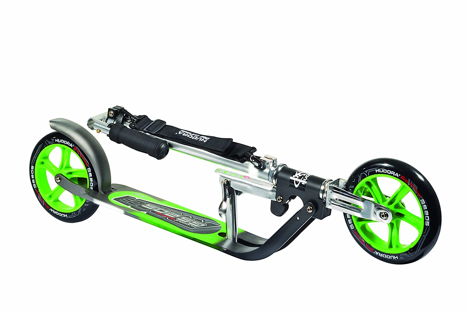 Patinete verde ruedas 205mm plegable