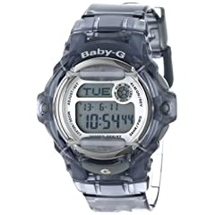 Casio Womens BG169R-8 Baby-G Gray Whale Digital Sport Watch