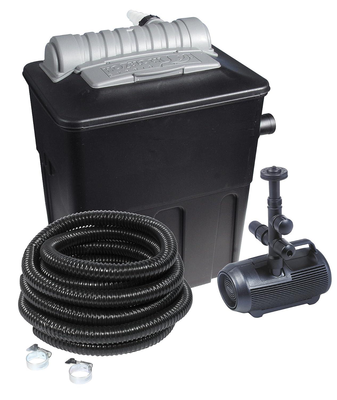 Hozelock Teichfilterset 5000, Mehrfarbig, Filter, Pumpe. Teichschlauch und Schlauchschellen günstig