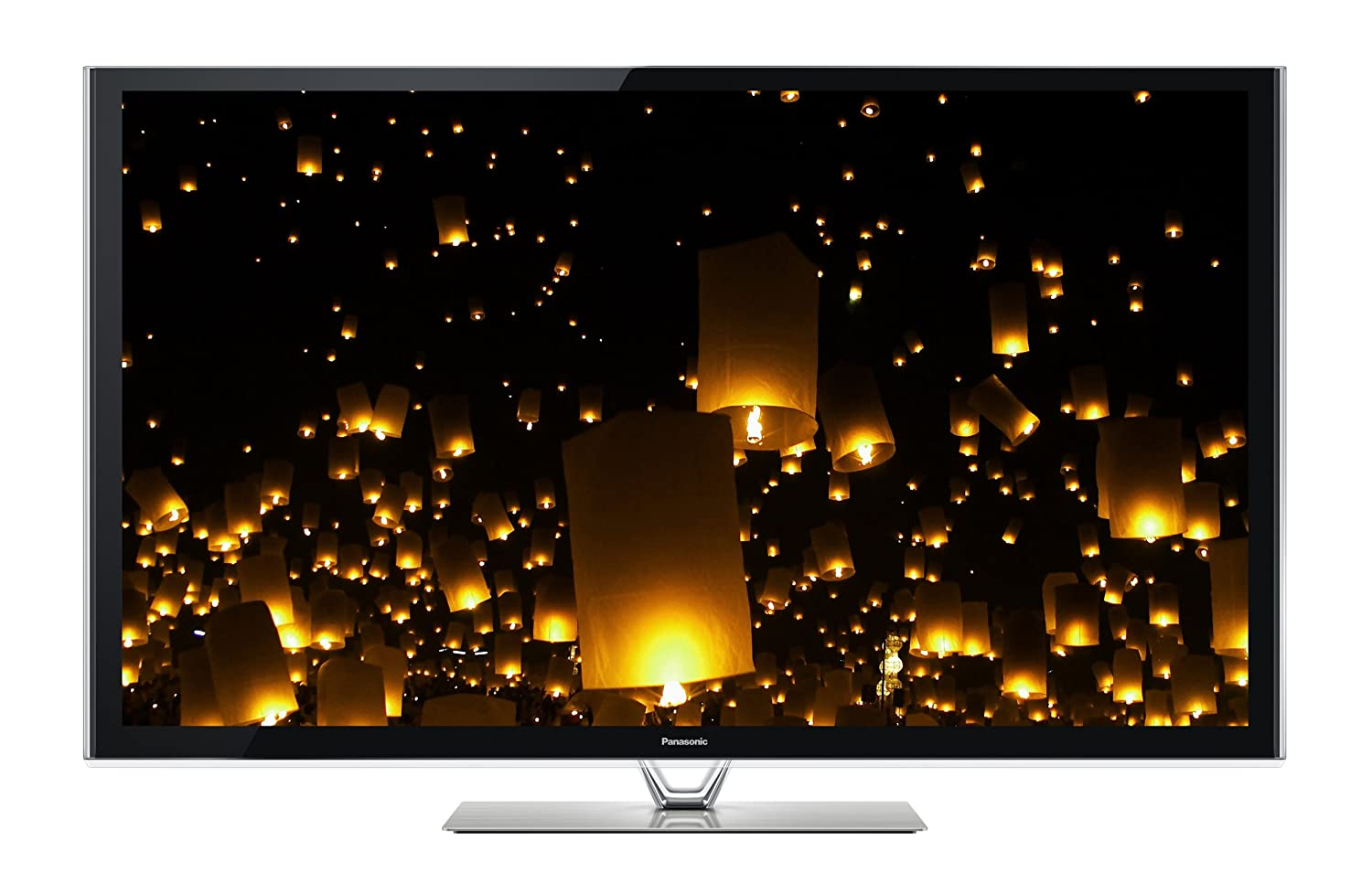 Panasonic TC-P60VT60 60-Inch 1080p 600Hz 3D Smart Plasma HDTV (Includes 2 Pairs of 3D Active Glasses and Built-in Camera) $1,975.95