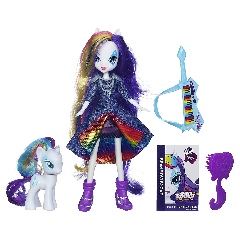 """My Little Pony – Equestria Girls Rainbow Rocks Puppe """"Rarity"""" mit Zubehör jetzt kaufen"""