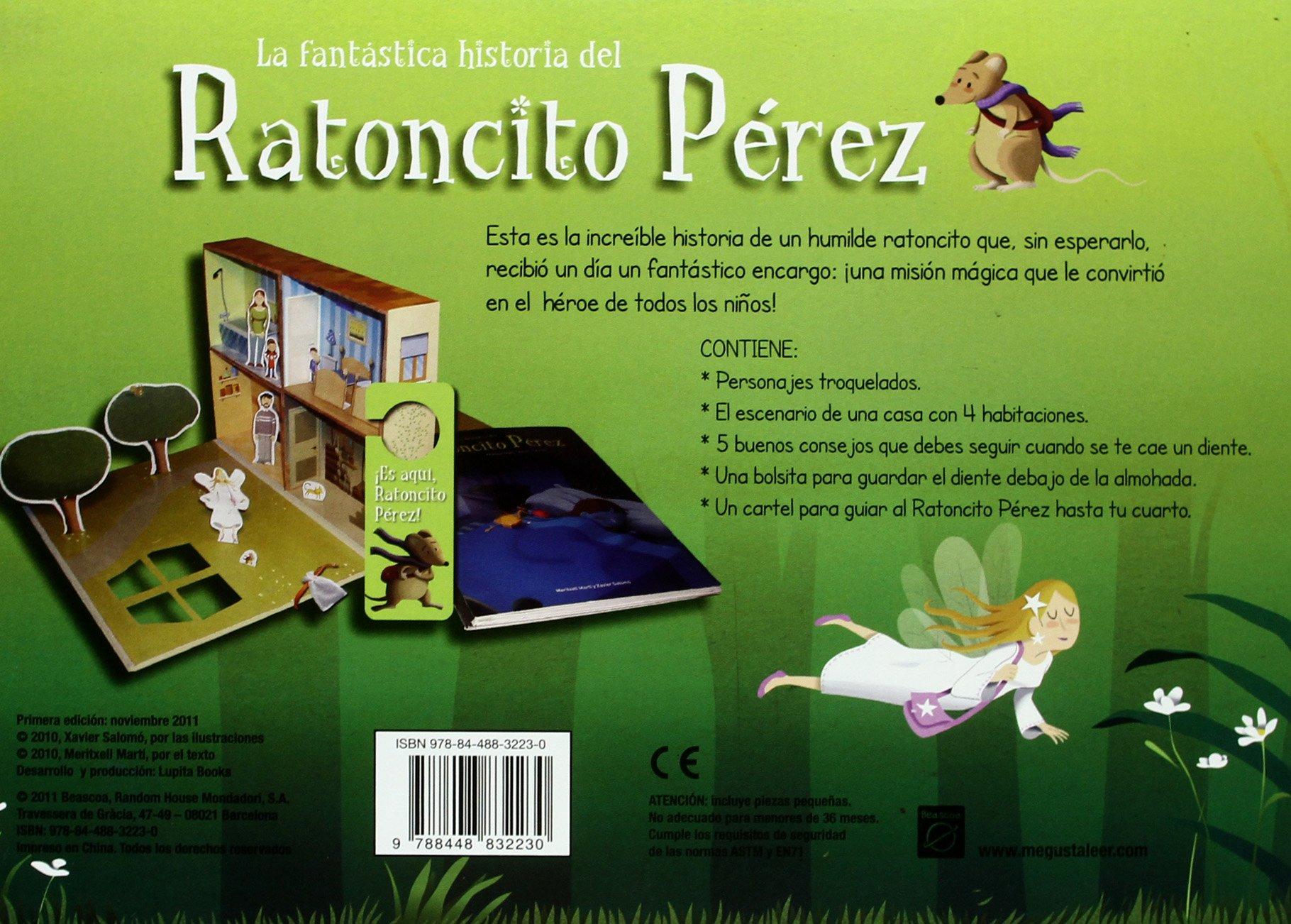 La fantastica historia del ratoncito, libro juego.