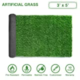 LITA Premium Artificial Grass 3' x 5' (15 Square') Realistic Fake Grass Deluxe Turf Synthetic Turf Thick Lawn Pet Turf -Perfect for indoor/outdoor Landscape - Customized Sizes Available