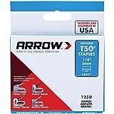 Arrow Fastener 504 Genuine T50 1/4-Inch Staples, 1,250-Pack