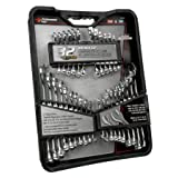 Performance Tool W1099 32-Piece SAE and Metric Combination Wrench Set