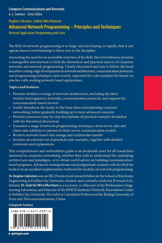 buy advanced network programming principles and techniques buy advanced network programming principles and techniques network application programming java computer communications and networks book online