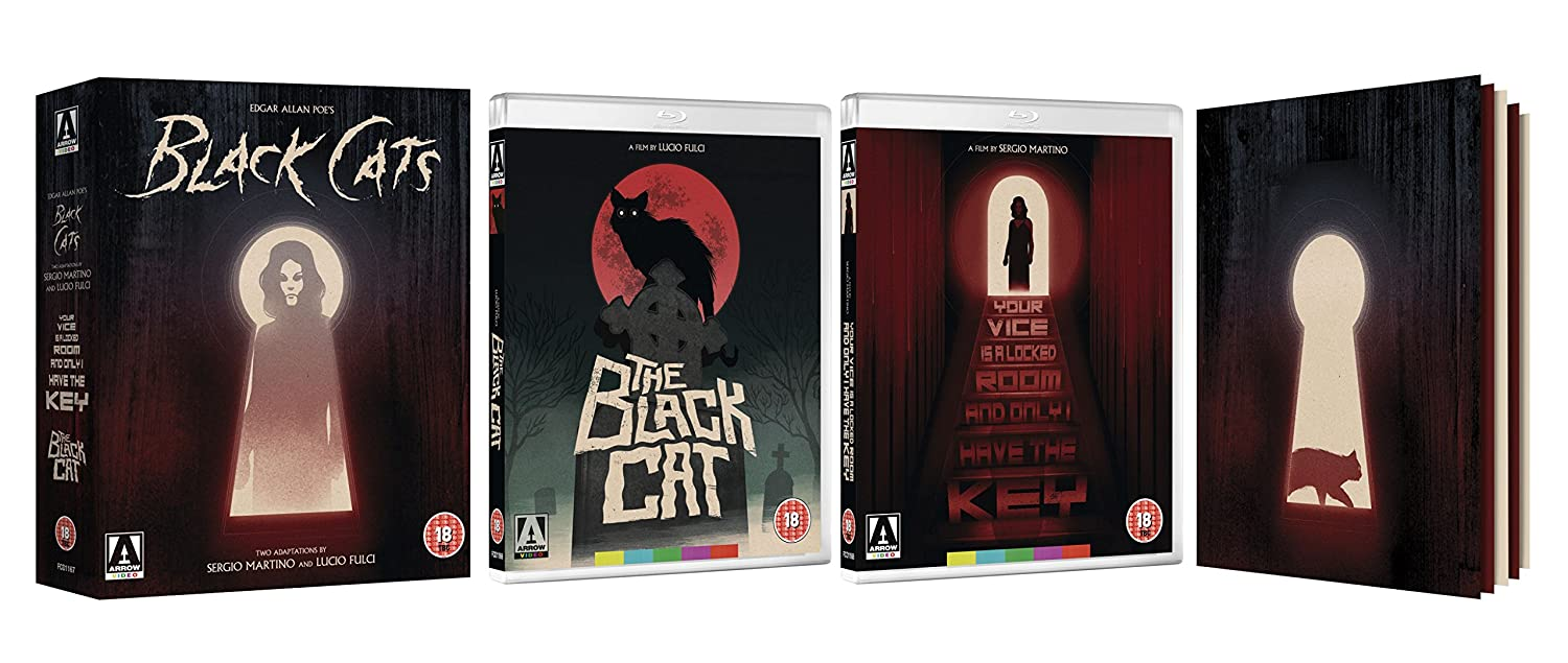 Edgar Allan Poe's Black Cats: Two Adaptations By Sergio Martino & Lucio Fulci