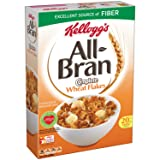 Kellogg's All-Bran Breakfast Cereal, Complete Wheat, 18 Ounce Box (Pack of 2)