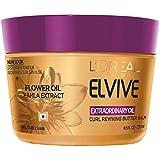 L'Oréal Paris Elvive Extraordinary Oil Curl Reviving Butter Balm, 8.5 fl. oz. (Packaging May Vary) (Tamaño: 8.5 fl. oz)