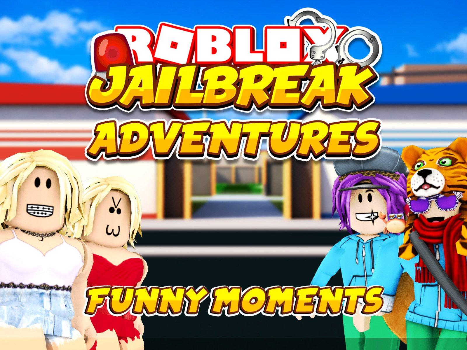 Clip: Roblox Jailbreak (Funny Moments - Season 1