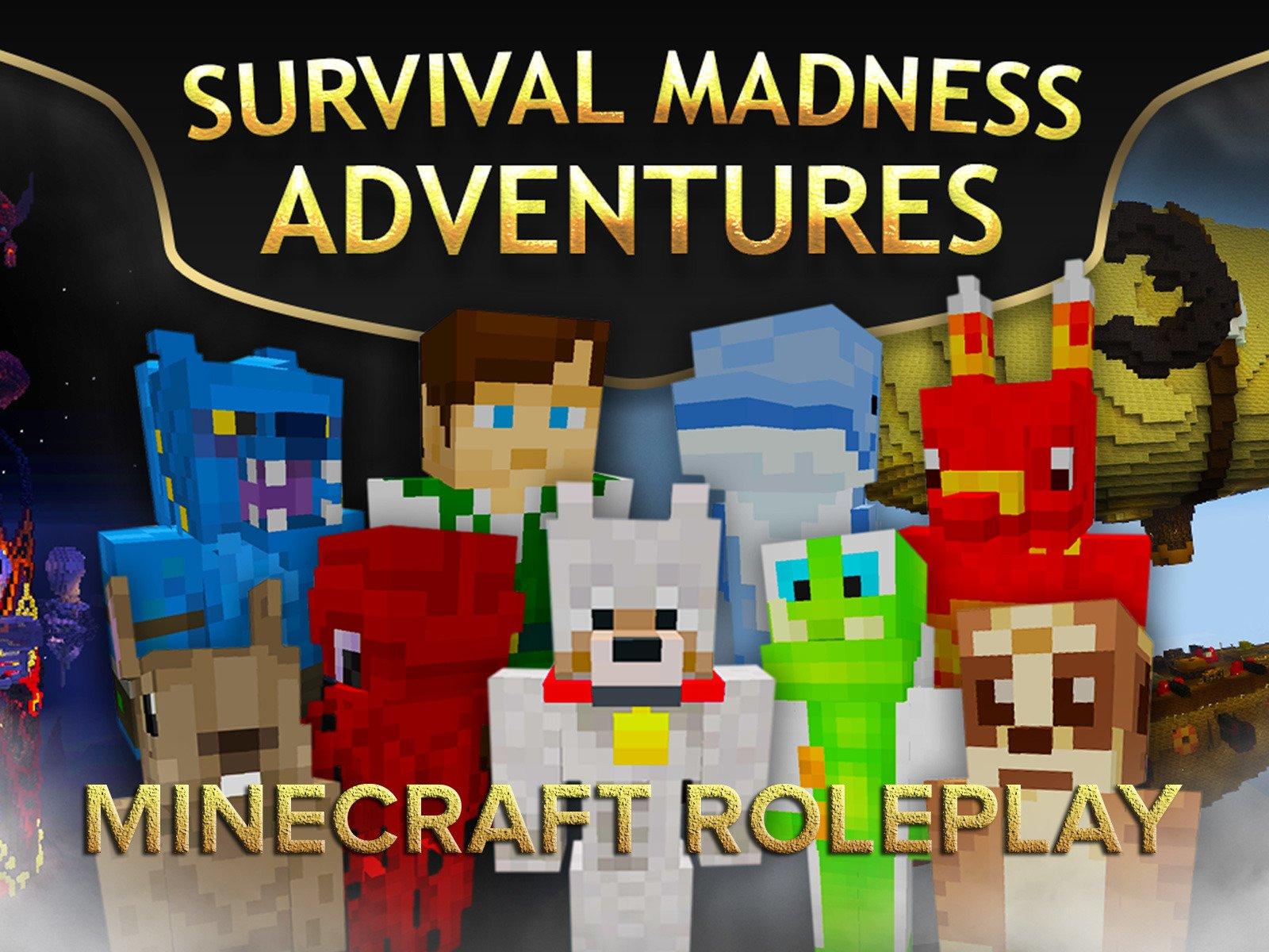 Clip: Survival Madness Adventures (Minecraft Roleplay) - Season 1