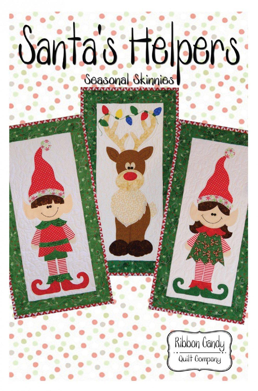 Santas Helpers Ribbon Candy