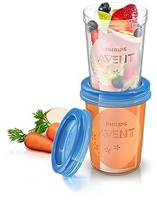 Philips Avent VIA - Set de recipientes para leche materna  Bebé Más información y revisión del cliente