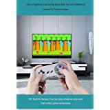 Old Arcade Classic Mini Game Consoles Classic Game Consoles Built-in 557 Games Video Games Handheld Game Player,AV Output,8-Bit , with 2.4 GHZ Wireless Controllers (Color: Grey)