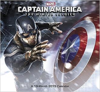 Captain America Wall Calendar (2015): The Winter Soldier