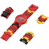 LEGO Watches and Clocks Boy's Quartz Plastic Watch, Color:red (Model: 8021414)