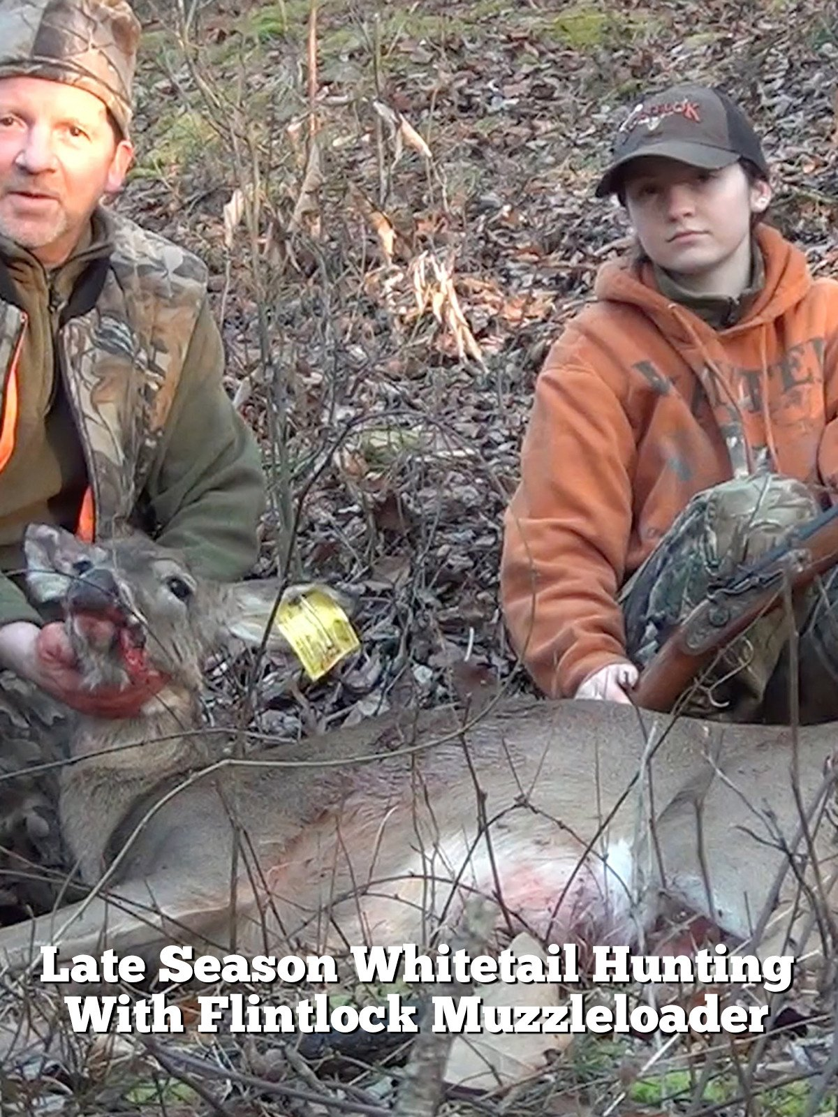Late Season Whitetail Hunting With Flintlock Muzzleloader