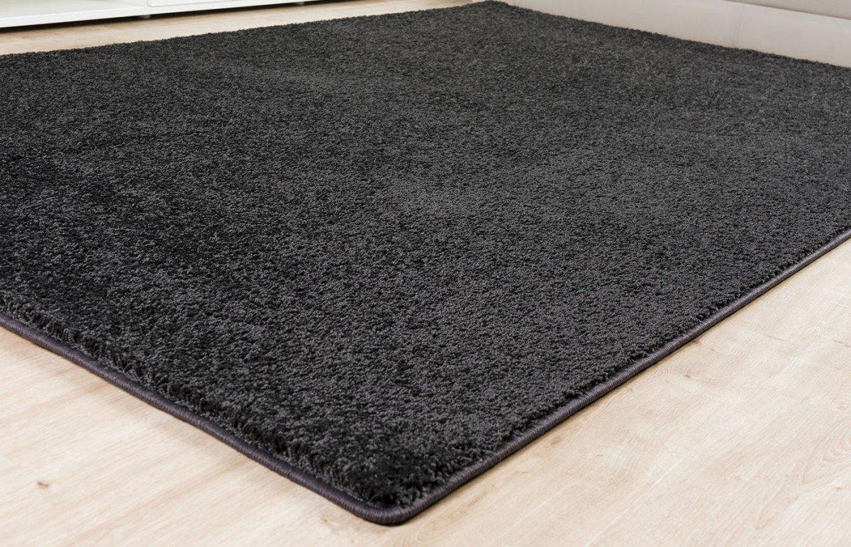 Shaggy Teppich Euphoria anthrazit, Größe Auswählen80 x 200 cm    Bewertungen
