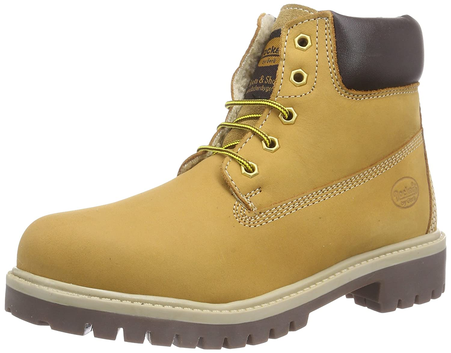 Dockers by Gerli 35FN701-300910 Unisex-Kinder Combat Boots