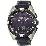 Tissot Men's T0914204605101 T-Touch Expert Titanium Watch (Color: Black/Silver)