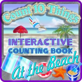 Count 10 Things at the Beach