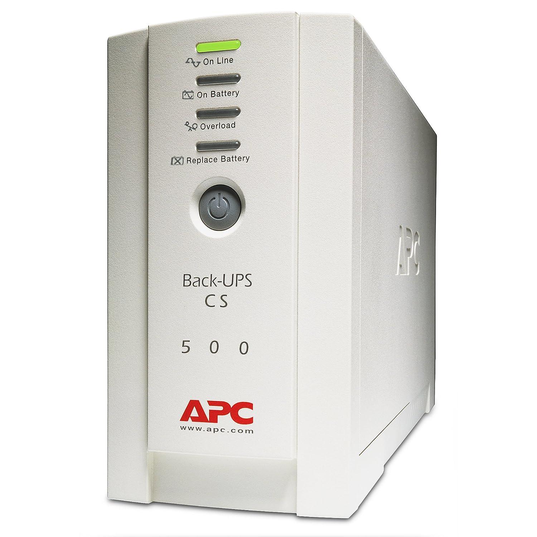 Ondulateur Back-UPS APC BACK UPS CS BK500EI BLANC 500VA