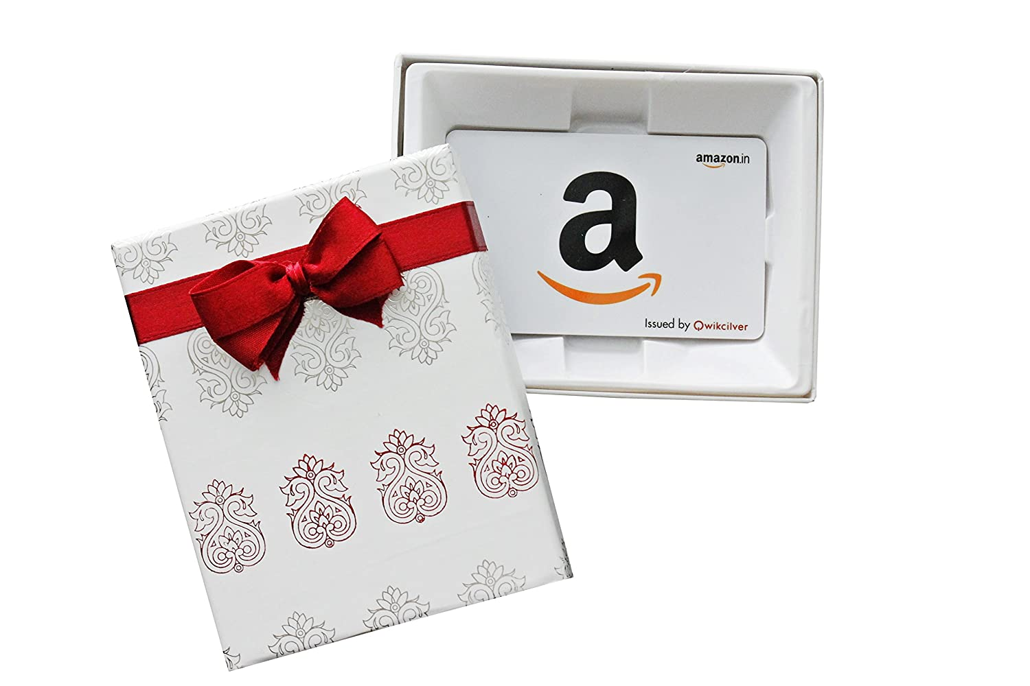 Amazon.in Gift Card in a White Box