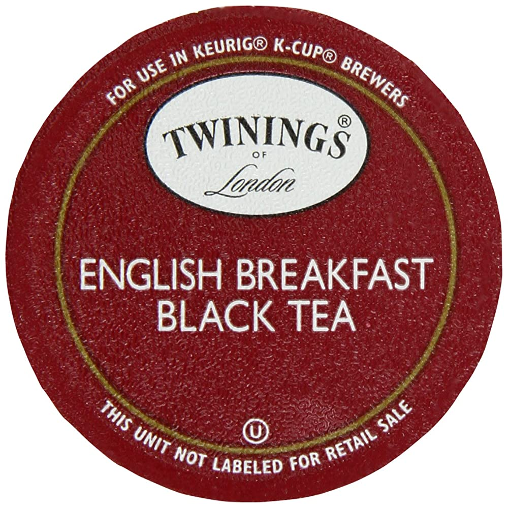Twinings English Breakfast Tea K Cup Portion Count for ...