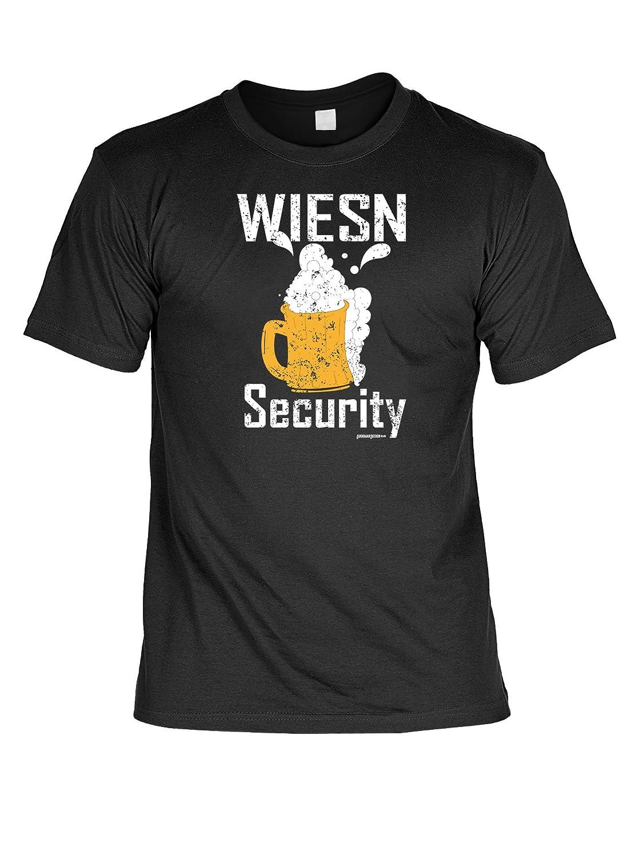 Volksfest T-Shirt Wiesn Security Wiesn 2015 Tracht T-Shirt zur Lederhosn Volksfest Trachten Outfit Farbe: schwarz kaufen