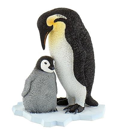 Bullyland - 63667 - Pion - Pingouin et son petit